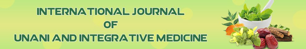 International Journal of Unani and Integrative Medicine